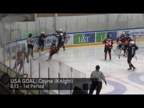 2016 Four Nations Cup: Highlights from Team USA's 3-2 Loss to Canada