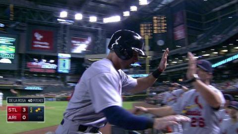 STL@ARI: Carpenter hits an RBI double into left field