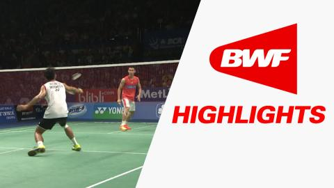 BCA Indonesia Open 2016 | Badminton SF – Highlights