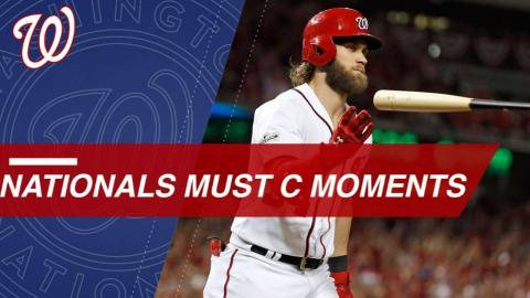 Must C: Top Moments from the 2017 Nationals season