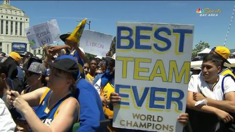 Best of The Golden State Warriors Victory Parade!