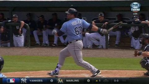 TB@DET: Roller hits a two-run homer to center field
