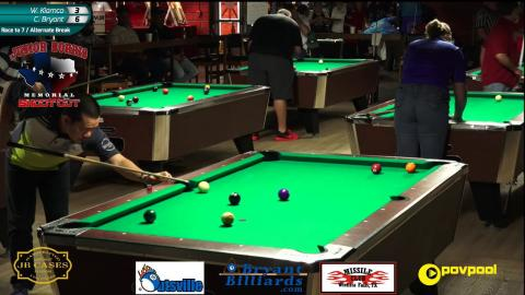 #? Charlie BRYANT vs Warren KIAMCO - 2017 Norris 9 Ball