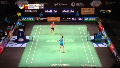 THE STAR Australian Open 2015 | Badminton QF Match 4  - WS