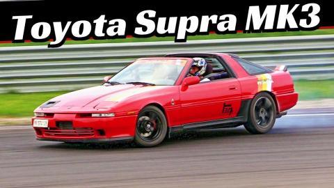 Toyota Supra MK3 3 0i Turbo + OnBoard - Drift, Powerslides