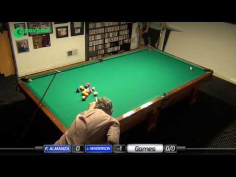 FINAL •#6a • John HENDERSON vs Frank ALMANZA • James Boch's One Pocket Challenge