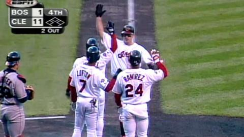 1999 ALDS Gm2: Thome hits grand slam to pad lead