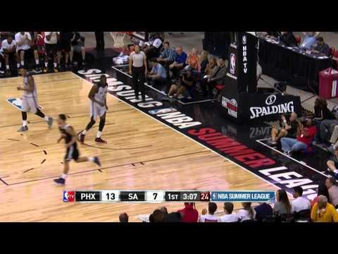 Mike James Picks the Pocket and Slams it Down!