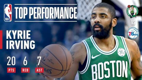 Kyrie Irving ELECTRIC Performance vs The Sixers In London