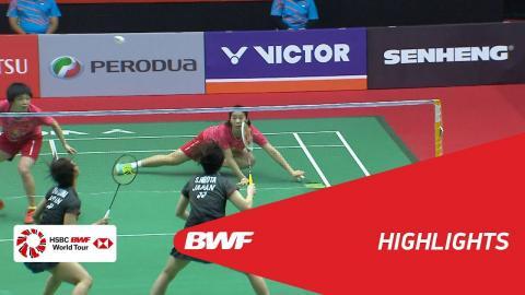 Perodua Malaysia Masters 2018 | Badminton WD - SF - Highlights  | BWF 2018