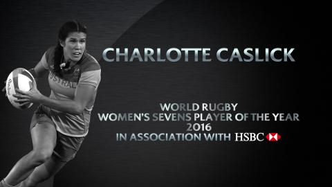 Charlotte Caslick wins Women's Sevens Player of the Year | World Rugby Awards 2016