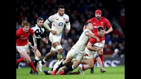 Half-time Highlights: England v Wales | NatWest 6 Nations