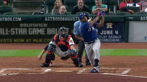 TEX@HOU: Andrus belts his first homer of the season