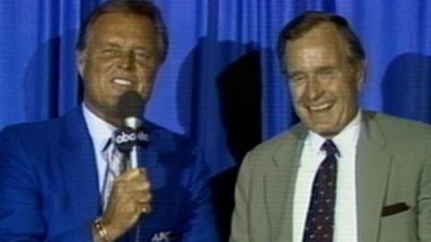 1986 ASG: Drysdale interviews George H.W. Bush