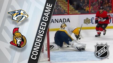 02/08/18 Condensed Game: Predators @ Senators