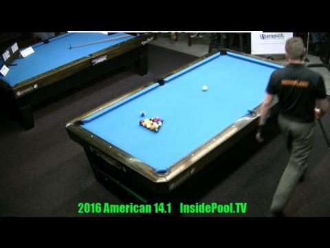 2016 American 14 1 Tournament Finals Niels Feijen VS Mika Immonen