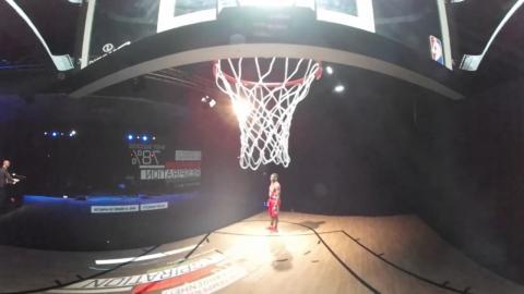 Langston Galloway at NBA Tech Summit - 360 Degrees Angle 2