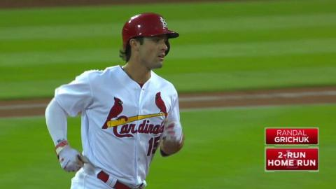 COL@STL: Grichuk extends homer streak to four