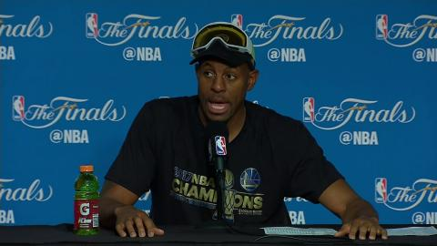Andre Iguodala NBA Finals Game 5 Press Conference