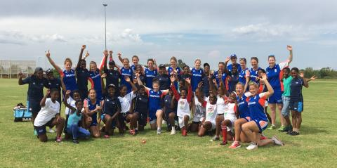 England women's cricket team spread love of the game & inspire South African youngsters