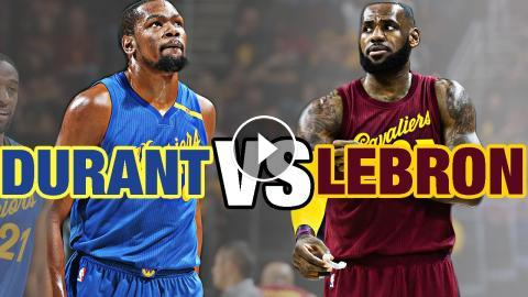 edbfb80902cb LeBron James VS Kevin Durant Epic Christmas Day Duel