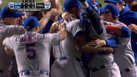 NLCS Gm4: Familia fans Fowler, Mets win pennant