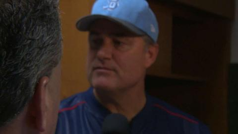 BOS@HOU: Farrell on Bogaerts' outburst in win