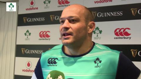 Irish Rugby TV: Rory Best On Ireland v New Zealand