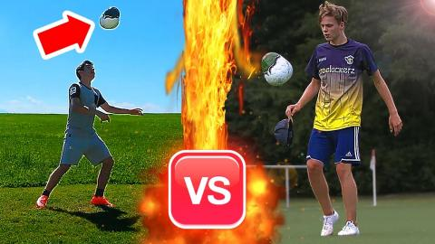MOST DIFFICULT FREESTYLE CHALLENGE WITH AN AWKWARD BALL ?!