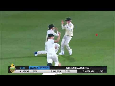 Australia v England - Women's Ashes Test, day one