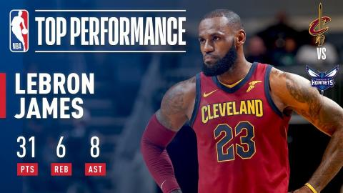 LeBron James Soars For 31 As Cavs Win 3rd Straight | November 15, 2017