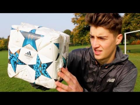 THE SQUARE FOOTBALL!! - Does it Work??