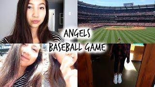 ANGELS BASEBALL GAME ♡ April 26, 2015