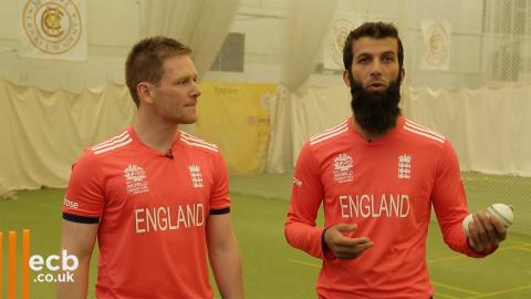 England players talk about new ICC World T20 kit