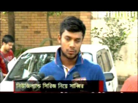 Sabbir Rahman Wants To Perform Best in Bangladesh VS Newzealand Cricket Series,BD Cricket News