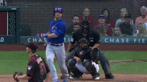 CHC@ARI: Zobrist hammers an RBI double to center