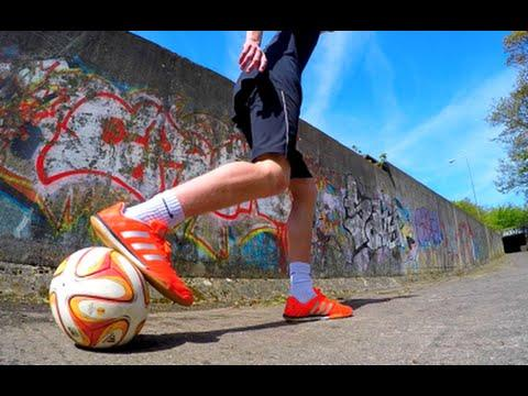 CRAZY FOOTBALL FLICK UPS   Can You Master These Moves??