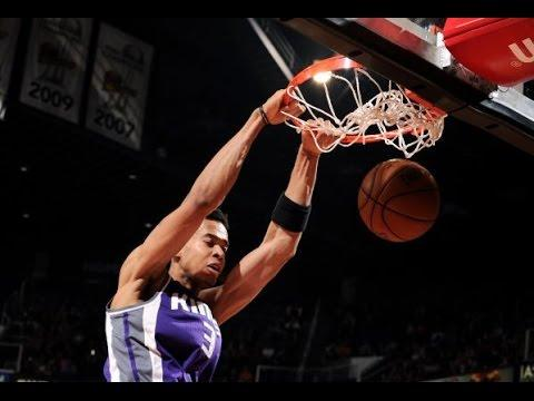 Skal Labissiere CAREER HIGH 32 Points (21 in the 4th Qtr) | March 15, 2017