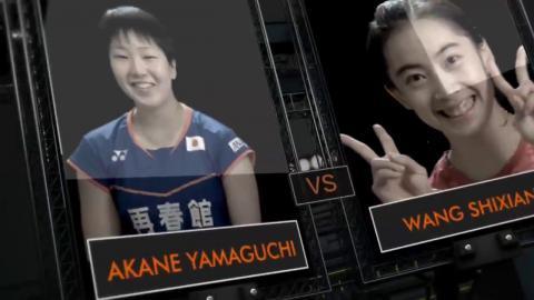 Yonex German Open 2016 | Badminton SF M1-WS | Akane Yamaguchi vs Wang Shixian