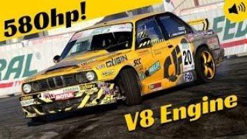 580hp Supercharged V8 4 0L BMW e30 Drifting! - Gerson