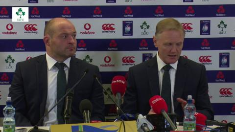 Irish Rugby TV: Ireland v Italy Post Match Press Conference