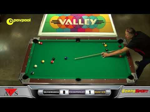 #4 Garcia/Olivo vs Fields/Popejoy / Texas ACS 2017 State 8 Ball
