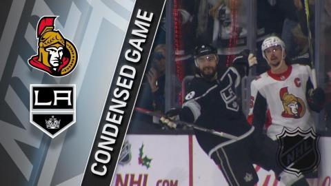 12/07/17 Condensed Game: Senators @ Kings