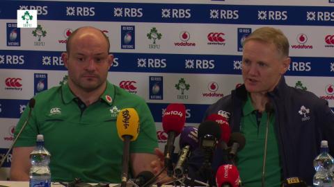 Irish Rugby TV: Ireland v France Post-Match Press Conference