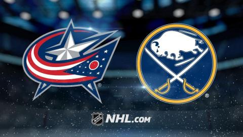 Sabres snap skid with 3-1 win against Blue Jackets