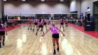 Morgan Finn #4, 17-1 Legacy Volleyball, 2014 Junior Nationals
