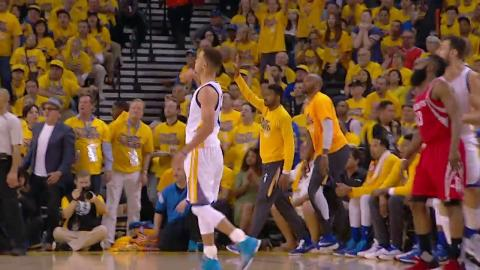 Stephen Curry Leads Warrior to Game 1 Victory Over Rockets