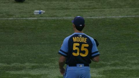 SF@TB: Moore twirls an effective start vs. the Giants