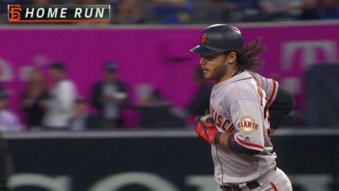 SF@SD: Crawford belts a three-run knock in the 2nd