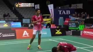 SF - 2015 Skycity New Zealand Open - Fajar Alfian/M. Rian Ardianto Vs Hoon Tien How/Lim Khim Wah